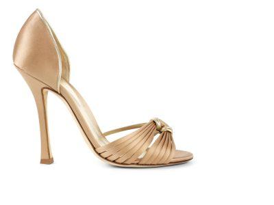 Open-toe Dorsay Sandals italian shoes designer Sergio Rossi