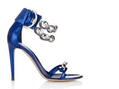 Renata Watersnake Sandal Sandals italian shoes designer Sergio Rossi