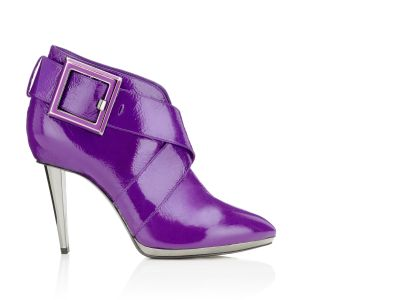 Trista Bootie Booties italian shoes designer Sergio Rossi :  trista designer patent leather shoes