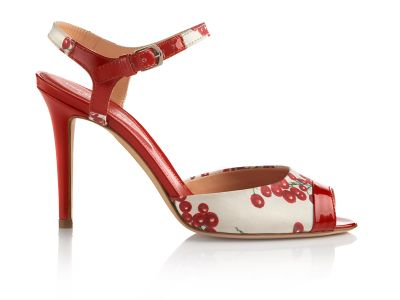 Rosaria Satin Sandals italian shoes designer Sergio Rossi